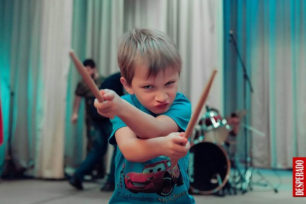 Уроки игры на барабанах в Новосибирске
