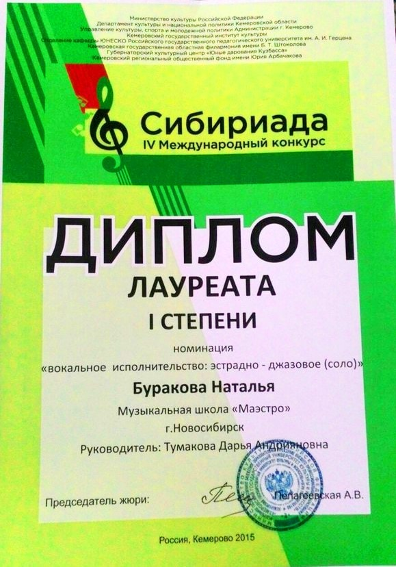 Burakova Natalya